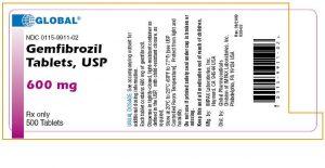 GEMFIBROZIL Thuốc chống tăng lipid huyết.