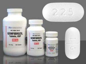 GEMFIBROZIL Thuốc chống tăng lipid huyết.GEMFIBROZIL Thuốc chống tăng lipid huyết.