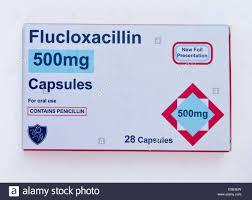 FLUCLOXACILIN thuốcKháng sinh bán tổng hợp isoxazolyl- penicilin chống tụ cầu khuẩn