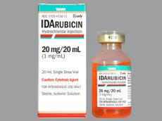 IDARUBICIN Chống ung thư, kháng sinh độc tế bào (3)
