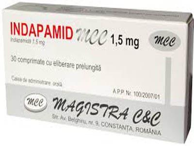 INDAPAMIDThuốc lợi tiểu - chống tăng huyết áp (2)