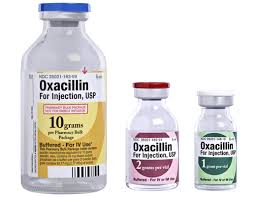 OXACILIN NATRI Kháng sinh; penicilin kháng penicilinase; isoxazolyl penicilin (1)