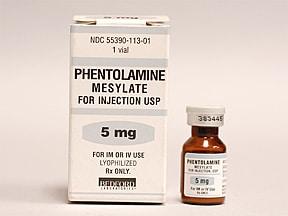 PHENTOLAMINE thuốc chống tăng huyết áp (3)