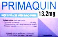 PRIMAQUIN thuốc Chống sốt rét (3)