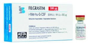 FILGRASTIM Thuốc yếu tố tăng trưởng tạo máu.
