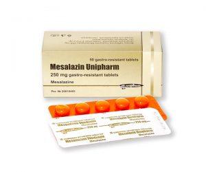 MESALAZINThuốc chữa bệnh đường ruột (chống viêm).
