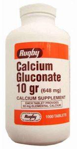 CALCI GLUCONAT Calcium gluconate (1)
