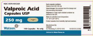 ACID VALPROIC Thuốc chống động kinh (dẫn chất của acid béo) (1)