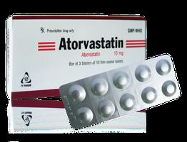ATORVASTATINThuốc dùng để giảm cholesterol (1)