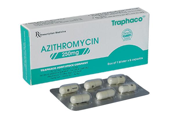 AZITHROMYCIN Thuốc kháng khuẩn (2)