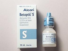 BETAXOLOL Thuốc chẹn giao cảm beta. Thuốc hạ huyết áp (3)