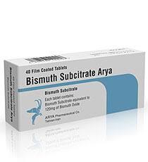 BISMUTH SUBCITRAT Thuốc điều trị loét dạ dày và tá tràng (1)
