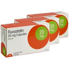 FLUVASTATIN Thuốc hạ cholesterol hoàn toàn tổng hợp.