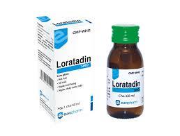 LORATADINThuốc kháng histamin