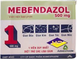 MEBENDAZOL thuốcChống giun sán có phổ rộng.