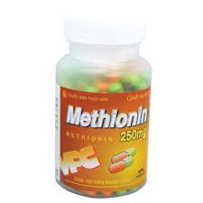 METHIONINThuốc giải độc paracetamol.