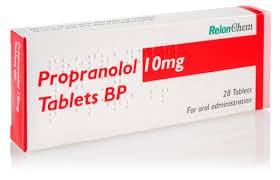 PROPRANOLOL thuốc Chẹn beta - adrenergic (2)