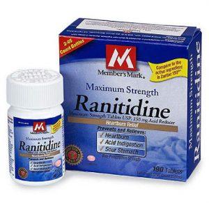 RANITIDINE thuốc Ðối kháng thụ thể histamin H2 (2)