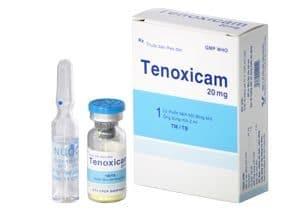 TENOXICAM Thuốc chống viêm không steroid