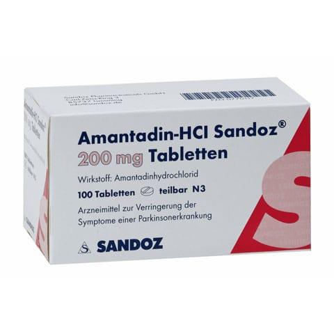 AMANTADIN Kháng virus cúm A2thuốc điều trị bệnh Parkinson