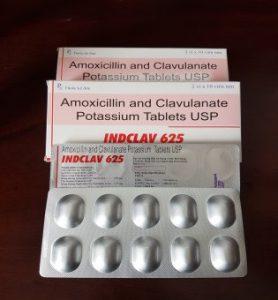 AMOXICILIN VÀ CLAVULANAT Kháng khuẩn