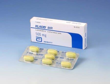 KLACID thuốc gì Công dụng và giá thuốc KLACID (2)