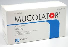 MUCOLATOR thuốc gì Công dụng và giá thuốc MUCOLATOR (2)