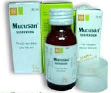 MUCUSAN suspension thuốc gì Công dụng và giá thuốc MUCUSAN suspension