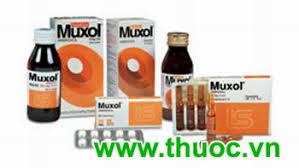 MUXOL thuốc gì Công dụng và giá thuốc MUXOL (1)
