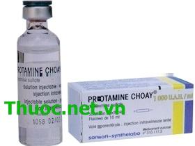 PROTAMINE SANOFI Thuốc trung hòa tác dụng chống đông của Heparine & Fraxiparine (1)