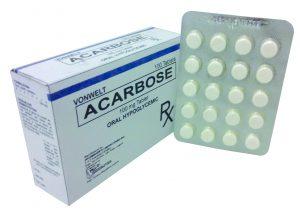 Acarbose Thuốc chống đái tháo đường (1)