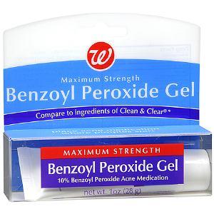 Benzoyl peroxide Thuốc kháng khuẩn và bong lớp sừng (2)