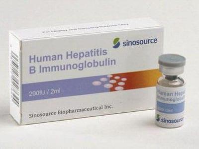 Globulin miễn dịch. KHÁNG VIÊM GAN B