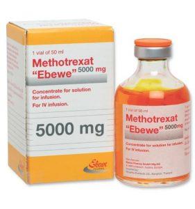 METHOTREXATThuốc chống ung thư (liều cao) và ức chế miễn dịch (liều thấp).