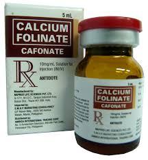 FOLINAT CALCIThuốc giải độc các thuốc đối kháng acid folic.