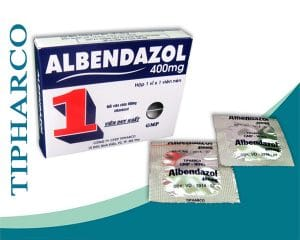 ALBENDAZOL Thuốc chống giun sán phổ rộng (3)