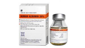 ALBUMIN Thuốc tăng thể tích máu, thuốc chống tăng bilirubin huyết (2)