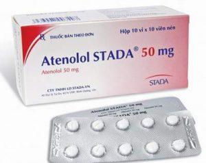ATENOLOL Thuốc chống tăng huyết áp thuộc loại chẹn chọn lọc trên thụ thể giao cảm beta - 1 (1)