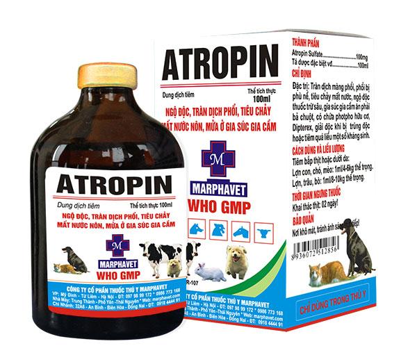 ATROPIN Thuốc kháng acetyl cholin (ức chế đối giao cảm) (1)