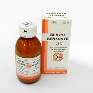 BENZYL BENZOAT Thuốc trị ghẻ và chấy rận (3)