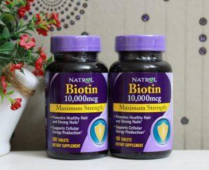 BIOTIN Vitamin thuộc nhóm B (3)