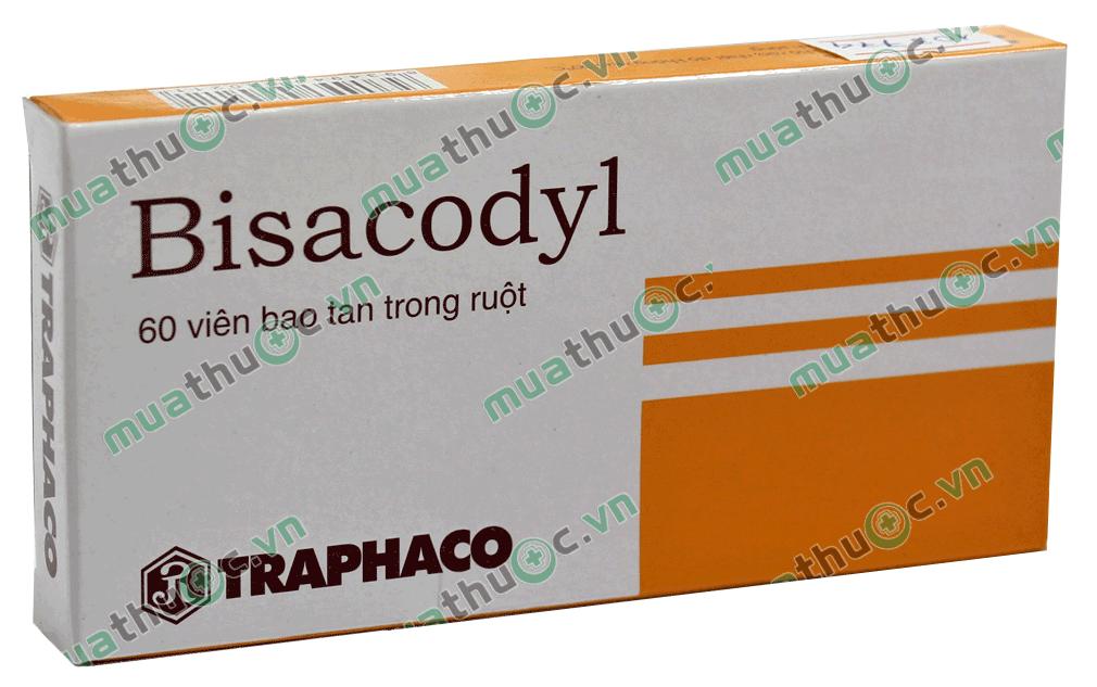 BISACODYL Thuốc nhuận tràng (1)