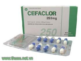 CEFACLOR Kháng sinh uống, nhóm cephalosporin thếhệ2 (2)