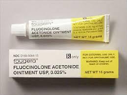 FLUOCINOLON ACETONID thuốcCorticosteroid dùng tại chỗ.