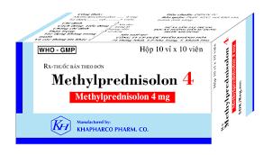 METHYLPREDNISOLON Thuốc chống viêm corticosteroid