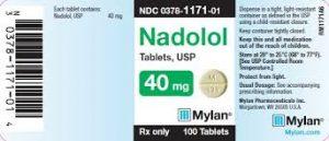 NADOLOL Thuốc chẹn beta - adrenergic không chọn lọc (3)