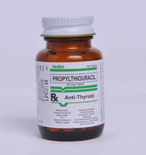 PROPYLTHIOURACIL thuốc kháng giáp