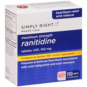 RANITIDINE thuốc Ðối kháng thụ thể histamin H2 (1)
