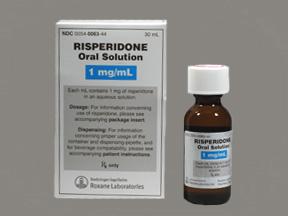 RISPERIDONE thuốc chống loạn thần (3)