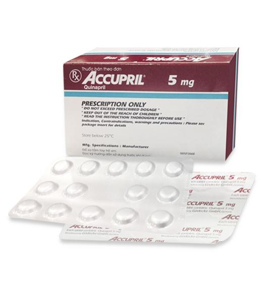 ACCUPRIL thuốc gì Công dụng và giá thuốc ACCUPRIL (3)